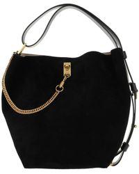 Givenchy Gv Bucket Bag Medium Leather Black/white