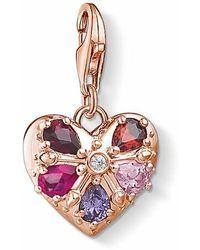 Thomas Sabo Charm Pendant Heart - Rose