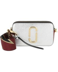 Marc Jacobs - Snapshot Small Camera Bag Silver/Multi - Lyst