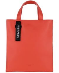 Liebeskind Berlin Paper Bag Tote Small Poppy Red