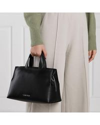 Calvin Klein Medium Zip Tote Bag - Zwart