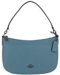 COACH - Light Blue Cross-body Bag - Lyst