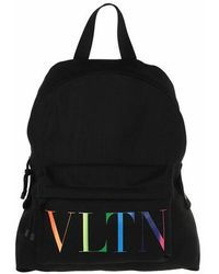 Valentino Garavani Vltn Backpack Nylon - Black