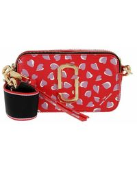 Marc Jacobs Sac rouge 'The Snapshot' Hearts