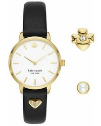 Kate Spade - Metro Watch And Charm Set - Lyst