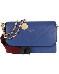 Givenchy Eden Chain Wallet Egyptian Blue