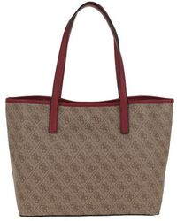 Guess Vikky Tote - Brown