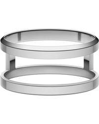 Daniel Wellington Elan Dual Ring Silver - Metallic