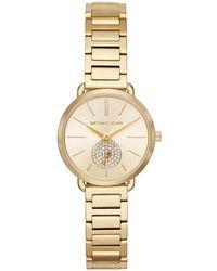 Michael Kors - Mk3838 Portia Ladies Metal Watch Gold - Lyst