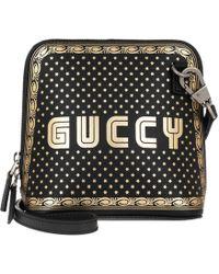 Gucci - Mini Guccy Sega® Print Shoulder Bag - Lyst