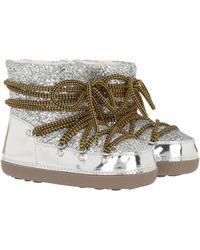 DSquared² Glitter Snow Boots Silver - Métallisé