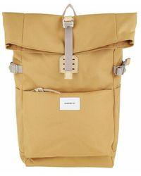Sandqvist Ilon Backpacks Leather - Yellow