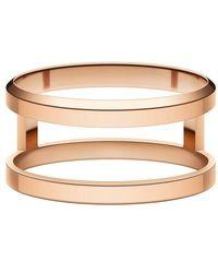 Daniel Wellington Elan Dual Ring - Metallic