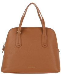 Coccinelle Dione Hobo Bag Caramel - Brown