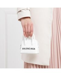 Balenciaga Ville Mini Crossbody Bag - Wit