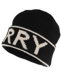 Burberry Logo Hat Beanie Cashmere - Noir