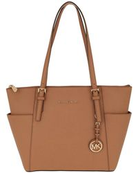 b81c98174797 Michael Kors Mercer Md Messenger Ns Acorn in Brown - Lyst