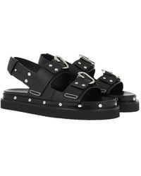 3.1 Phillip Lim Alix Flatform Sandal - Noir