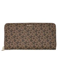 DKNY Bryant New Zip Around Wallet - Multicolore