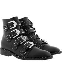 Givenchy Elegant Flank Black Leather Boot