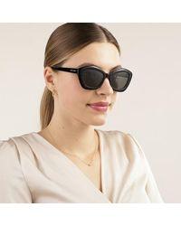Saint Laurent Sl 423-002 54 Sunglasses Acetate - Bruin