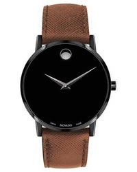 Movado Museum Classic Watch - Marron