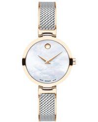 Movado Amika Watch Bicolor - Mettallic