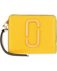 Marc Jacobs The Snapshot Mini Compact Wallet Plantain Multi - Multicolore