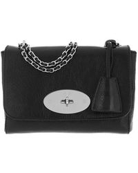 Mulberry Lily Crossbody Bag Leather - Noir