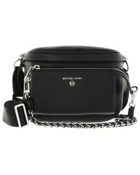 Michael Kors Medium Sling Pack Handbag Leather - Noir