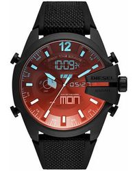 DIESEL Mega Chief Analog-Digital Watch - Noir