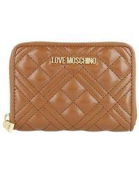 Love Moschino Wallet - Marron