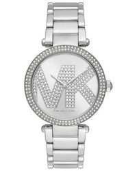 Michael Kors Parker Three-hand Stainless Steel Watch - Metallic
