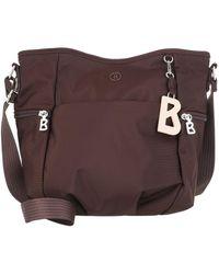 Bogner Verbier Aria Shoulder Bag Burgundy - Red