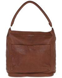 Liebeskind Berlin Vegetable Vintage Hobo Bag Medium Brown