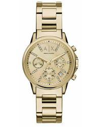 Armani Exchange AX4327 Ladies Lady Banks Watch - Métallisé