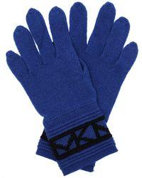 Michael Kors Trim Glove Twilight Blue