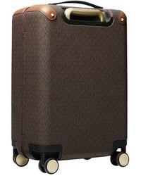 Michael Kors Travel Sm Hardcase Trolley - Brown