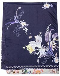 Ted Baker Dalmato Decadence Long Woven Scarf - Natural