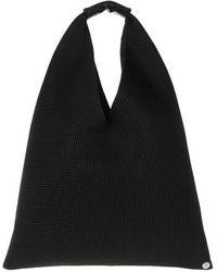 MM6 by Maison Martin Margiela Small Japanese Hobo Bag - Black
