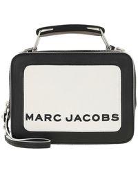Marc Jacobs The Colorblocked Mini Box Bag - Schwarz