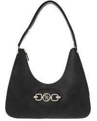 Guess Hensely Hobo Bag - Black