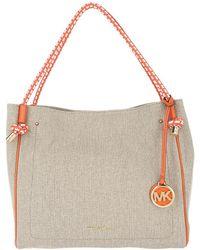 Michael Kors - Isla Lg Grab Bag Hemp - Lyst