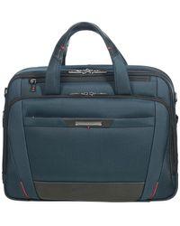 "Samsonite ""Pro DLX 15,6"""" Laptop Rolling Tote Bag"" - Blau"