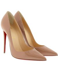 Christian Louboutin - So Kate Patent Red Sole Court Shoes - Lyst