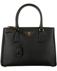 Prada Grand sac cabas Galleria - Noir