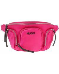 HUGO Record Bumbag - Pink