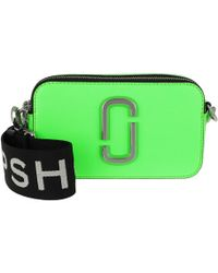 Marc Jacobs Fluorescent Snapshot Camera Bag Small Bright Green