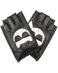 Karl Lagerfeld K/Ikonik Glove - Noir