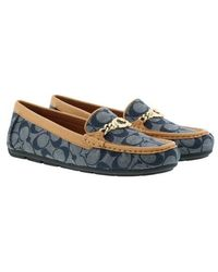 COACH Shoes Drivers Slipper - Blau